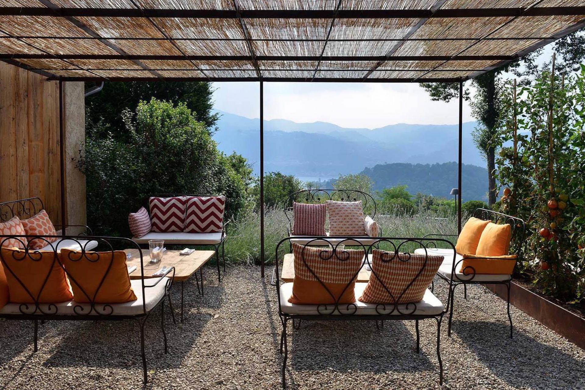 Agriturismo Comer See und Gardasee Agriturismo Lago Maggiore, mit sehr schönem Blick