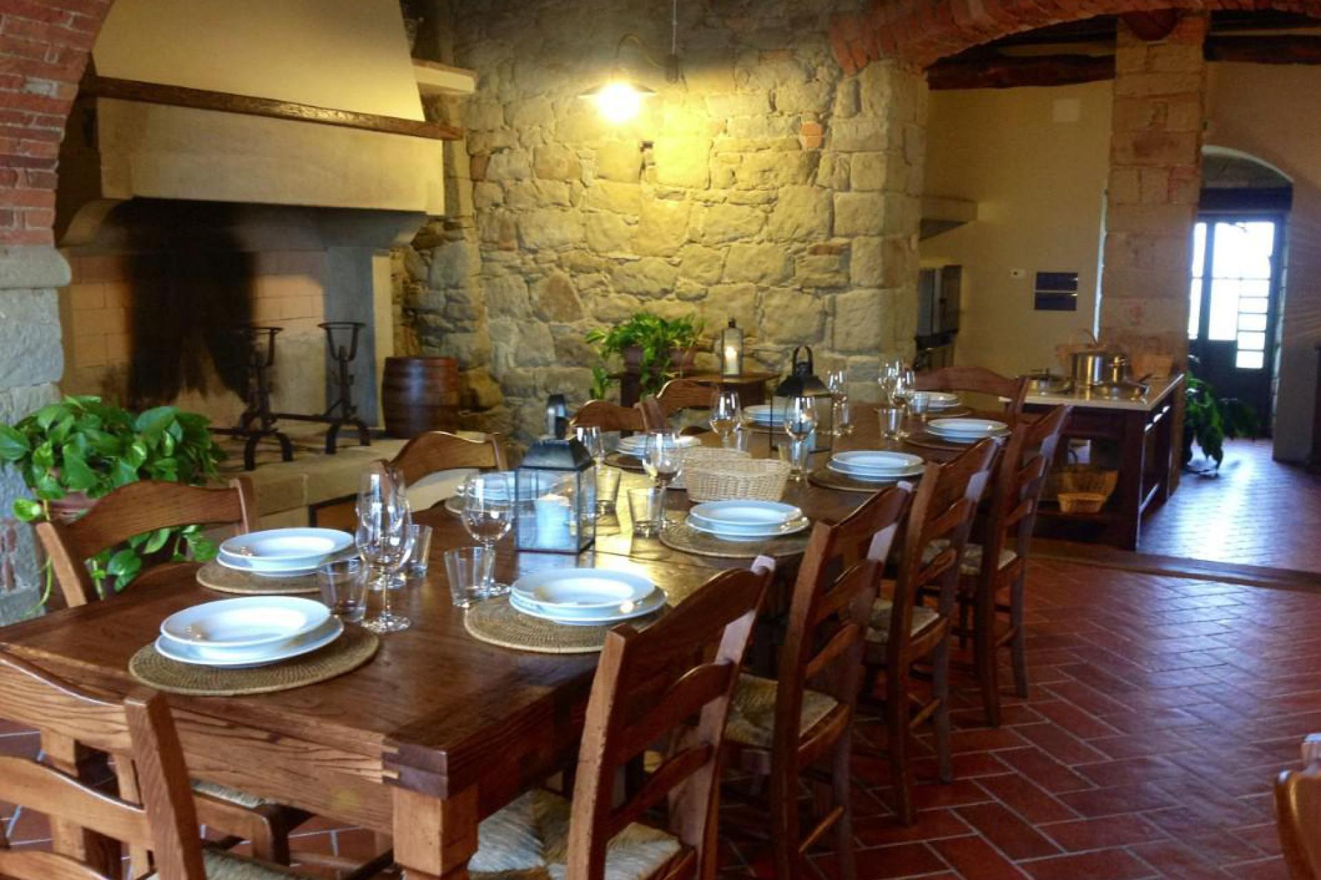 Agriturismo Toskana Agriturismo Siena, mit Pool und luxuriösen Wohnungen