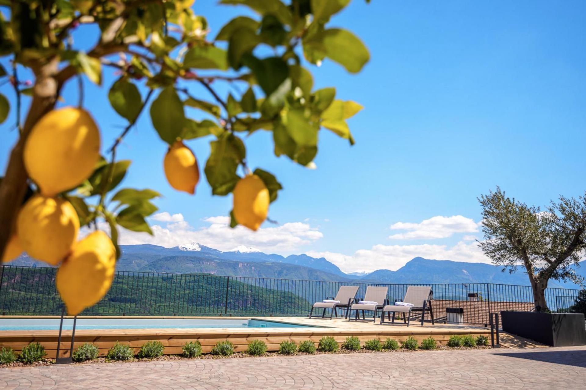 Agriturismo Dolomiten Gemütlicher Agriturismo zwischen Apfelbäumen und Weinbergen