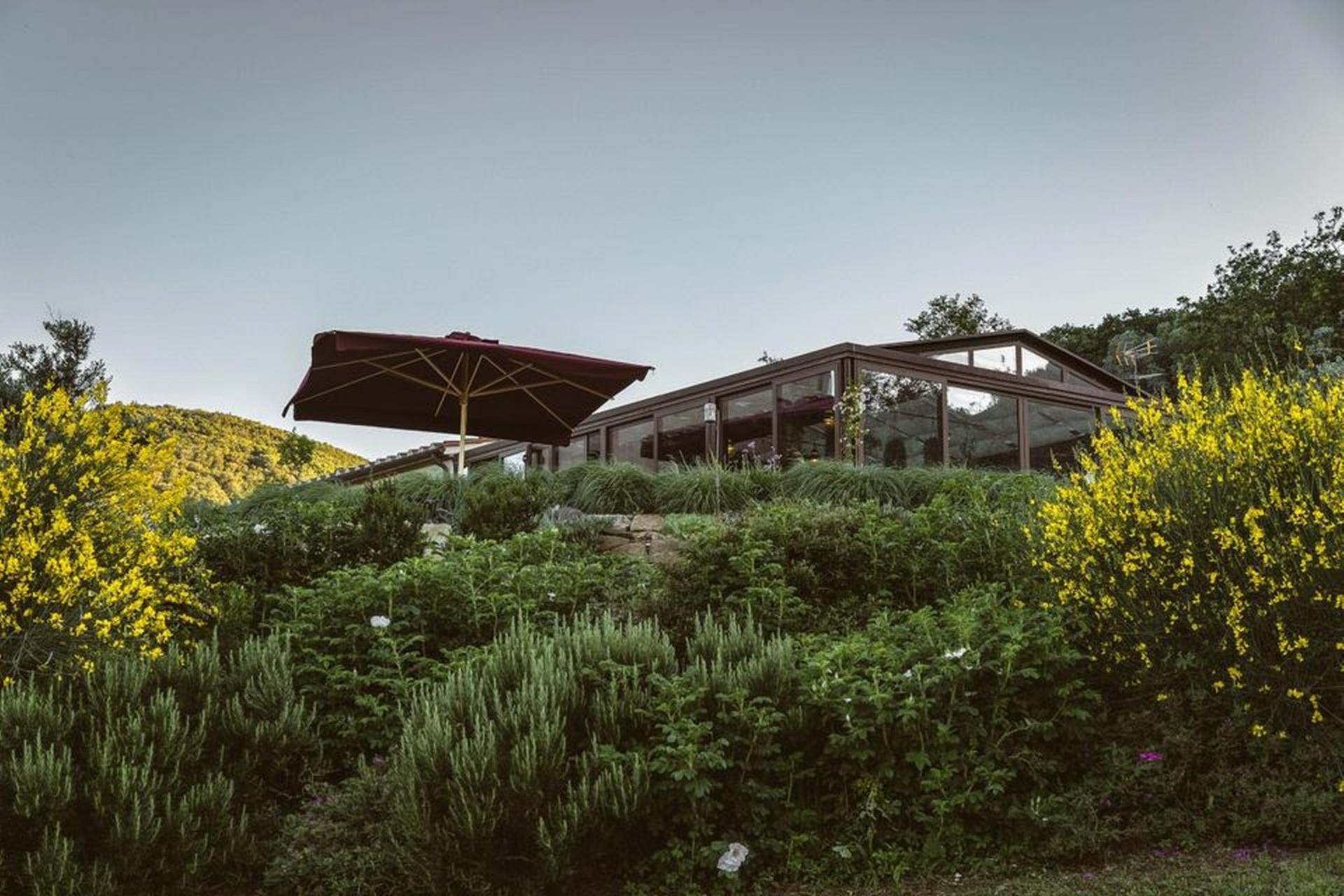 Agriturismo Toskana Großer Agriturismo in der Toskana mit atemberaubendem Blick