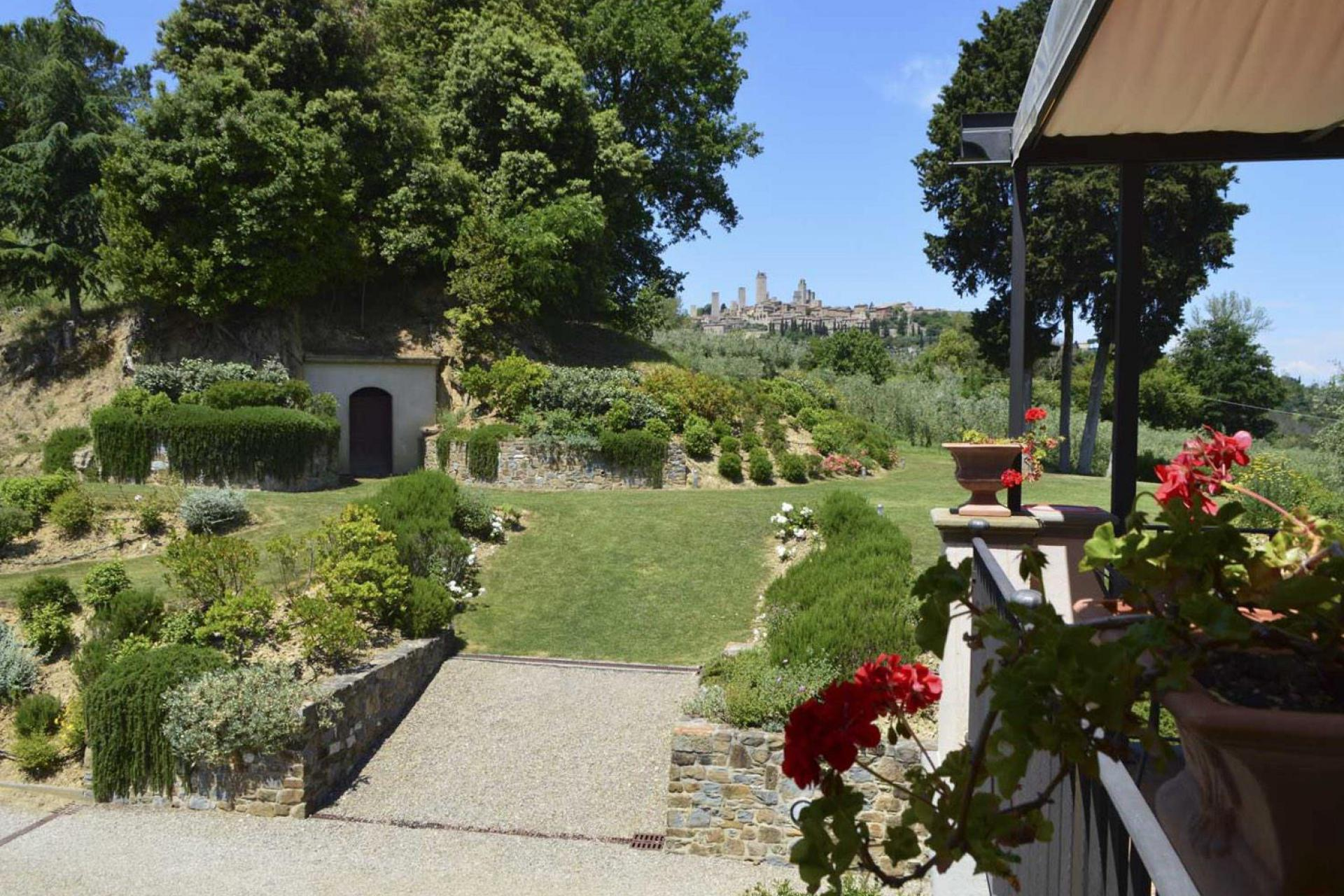 Agriturismo Toskana Agriturismo Toskana, mit Blick auf San Gimignano