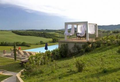 Agriturismo Toskana mit Pool und Panoramablick